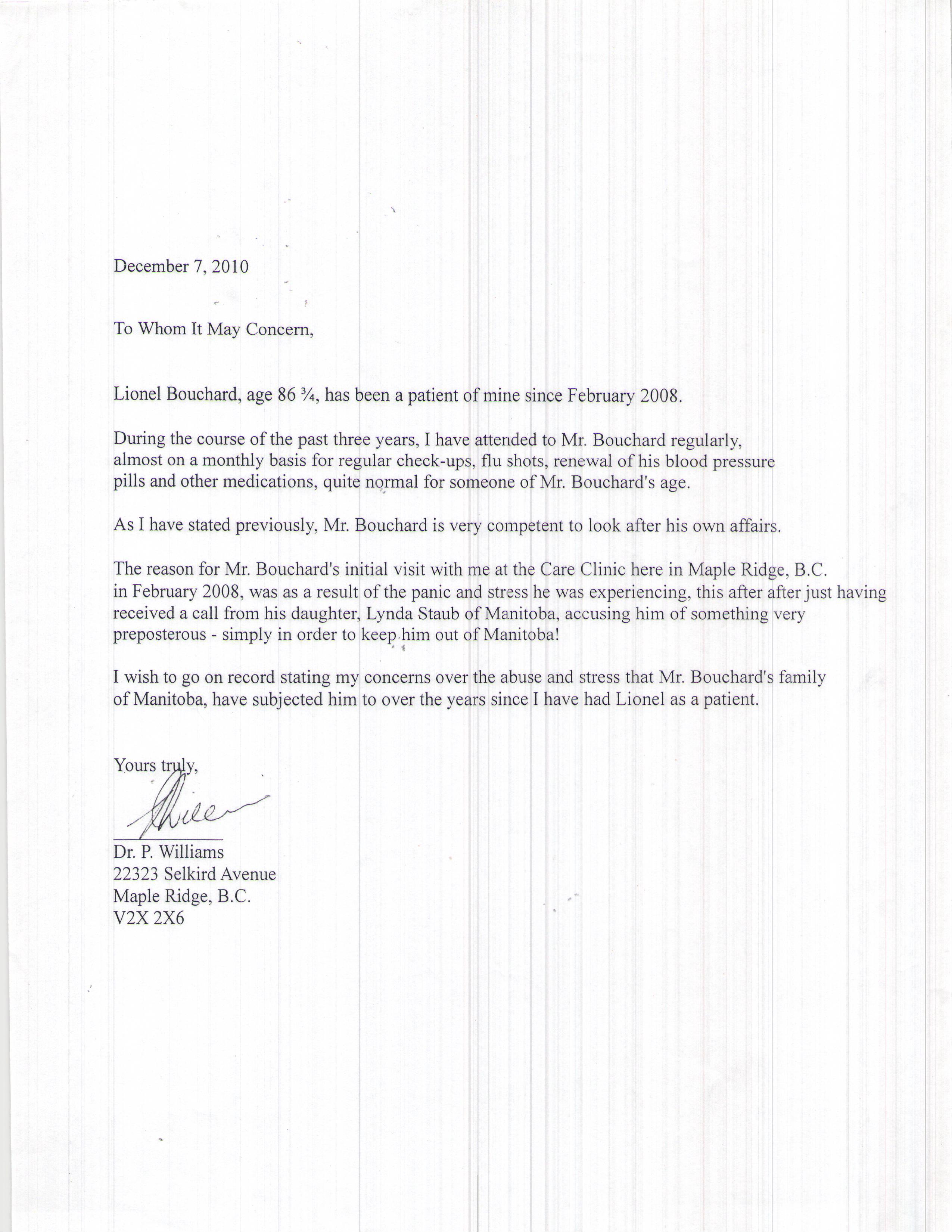 Tenancy Termination Letter Sample Ontario
